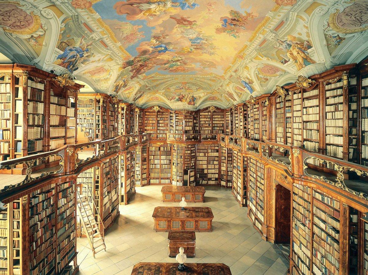 El Monasterio de Admont en Austria