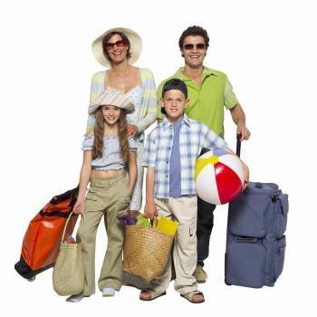 Viajar fuera del país, sano y salvo