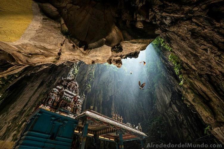 alrededor del mundo cueva malasia