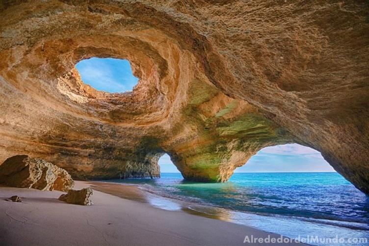 alrededor del mundo cueva portugal