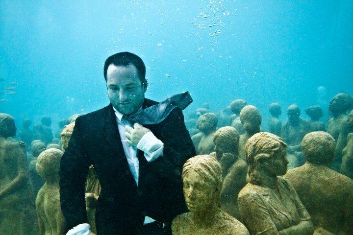 museo subacuático de México