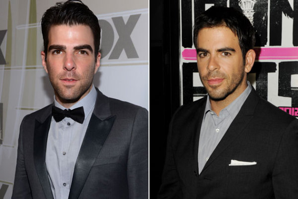 5  Eli Roth and actor Zachary Quinto