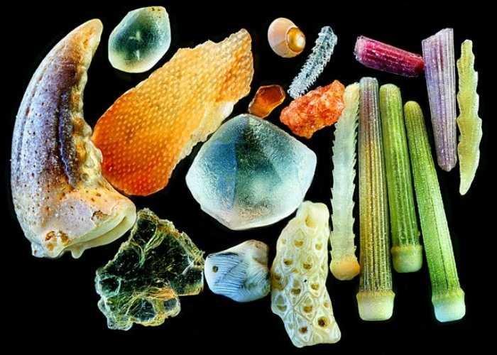 Granos de arena ¡Parecen Joyas bajo un microscopio! 2