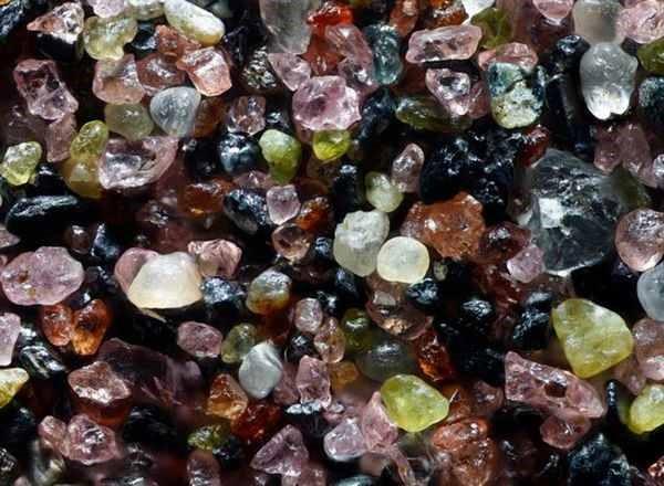 Granos de arena ¡Parecen Joyas bajo un microscopio! 3