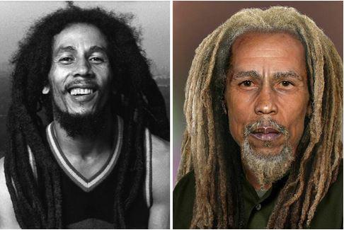 Bob Marley, 70 años