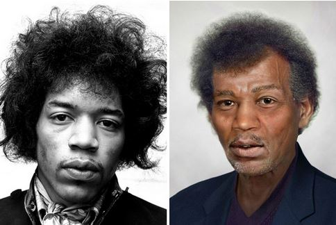 Jimi Hendrix, 72 años