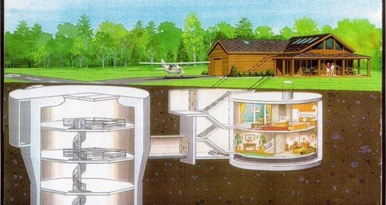 Alguien construyó una casa para resistir un ataque  de zombies!