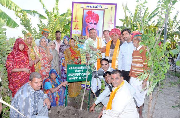 Un pueblo en la INDIA planta 111 árboles cada vez que nace una niña , tierra verde 3