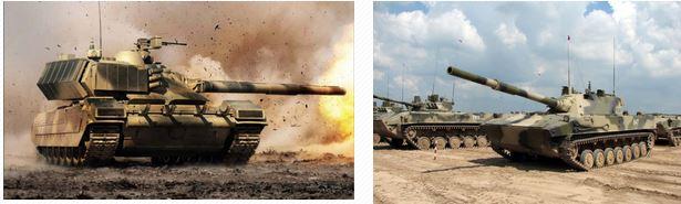 tankes rusos armata