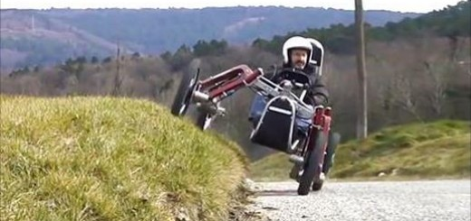 Revolucionaro mini coche-araña para montañas