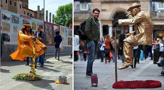 Aquí está el secreto detrás de la levitación callejera 3