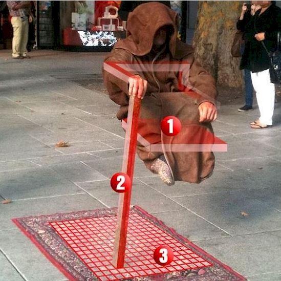 truco de levitar