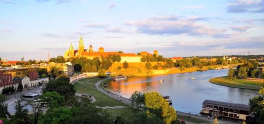 Ciudad Cracovia en Polonia Hermosas Vistas HD